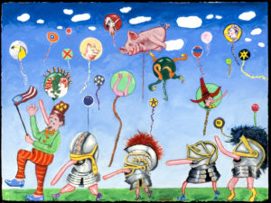 Pinocchios Nose Parade