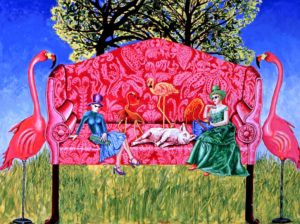 A Day in the Country (Big Red Couch)