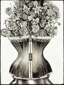 Corset Flower Vase
