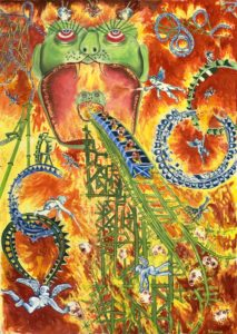 Hellmouth #2—Imps and Sinners on Roller Coasters