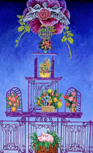 Funeral Flower Tower