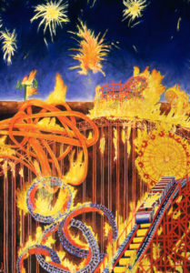 Amusement Park, Fires and Fireworks
