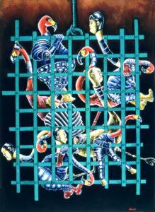 Cage of Fools, Flamingo Sumo Warriors