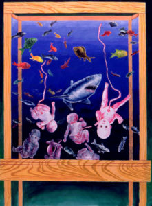 Abortion Aquarium-Feeding the Fishes