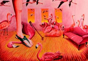 Misstep in the Flamingo Room
